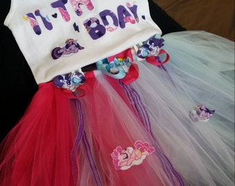 My little pony tutu outfit