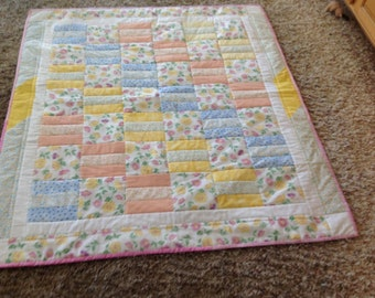 Colorful Youth or Dorm Quilt
