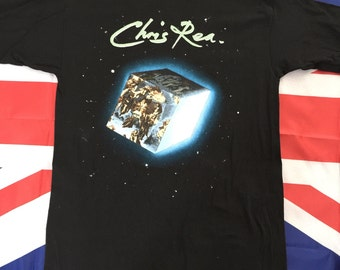 Vintage Chris Rea Road To Hell 1990 European Tour T Shirt Medium