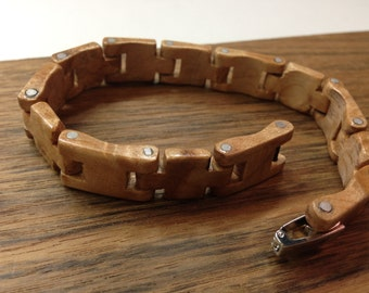 Maple wood bracelet