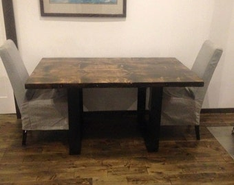 Modern Rustic Kitchen Table