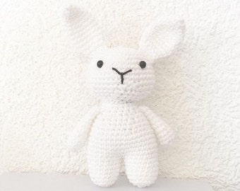 Plush rabbit baby