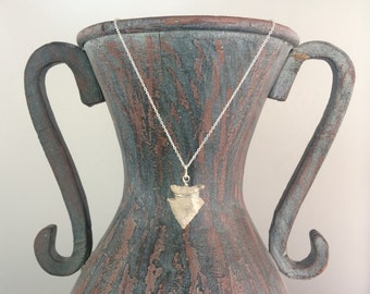 Arrowhead Necklace - Authentic Native American Artifact - Arrowhead Jewelry - Gift For Her- Mississippian Arrowhead - Missouri Found