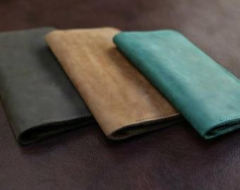 Leather wallet women, leather wallet purse, mens wallet, credit card wallet, carryall, womens wallet, handmade wallet, vintage wallet