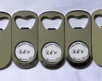 Wedding Favor Custom Bottle Opener