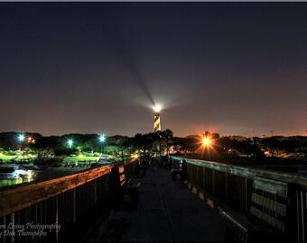 St Augustine Lighthouse, Night Photography, Photography, Florida