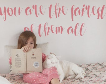 Quote Wall Decal - Quote Wall Decals - Nursery Wall Decal - Nursery Wall Decals - Wall Decal Quote - Wall Decal Nursery - Girls Wall Decals