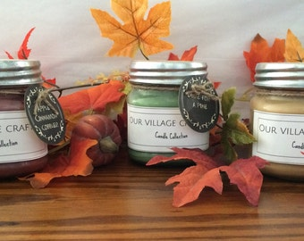 8oz or 16oz Hand Poured Soy Candle