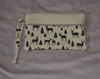 The perfect wallet black and deer #1
