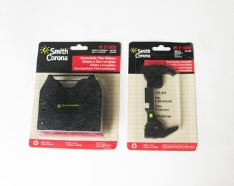 vintage Smith Corona H 21000 correctable film ribbons