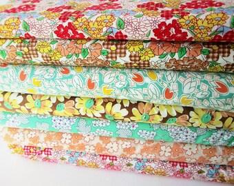 Windham Feedsack Fabric Bundle, Options include fat quarters, half yard, and yard bundles