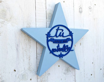 Blue Star painted