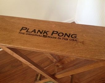 Plank Pong Game Board