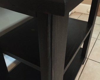 End Table, Night Stand, Side Table, Farm House Table
