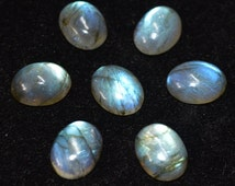 10 pic.natural blue flashy Labradorite 13X18 mm oval shape cabochon with free shipping