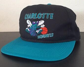 Charlotte Hornets Vintage 90's G Cap Snapback Hat