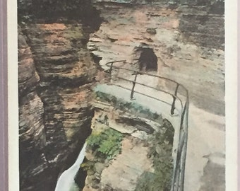 Glen Alpha, Watkins Glen, N.Y. Vintage Postcard