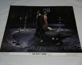 The Devil's Bride - Movie Lobby Card - Copyright 1968 20th Century Fox - Horror Movie - Collectible + Frameable Movie Art - Ephemera   31-14