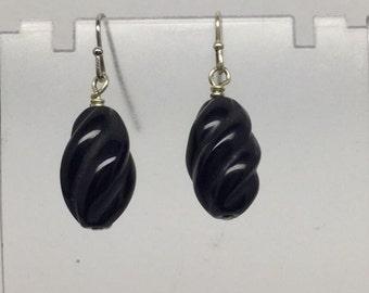Handcrafted Onyx Earrings