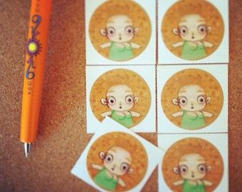 Sticker round - sticker