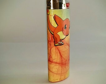 Pokemon Charmander - Tail goes to Flame Custom Lighter