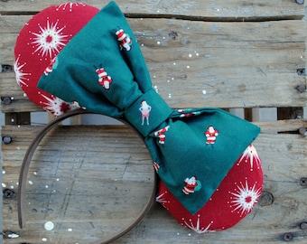 Santa Starburst Mouse Ears
