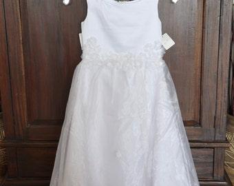 Easter dress, childs size 8 dress, little girl dress, special occasion dress, flowergirls dress, pagent dress, christmas dress, spring dress