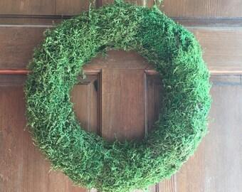 Preserved Moss Wreath