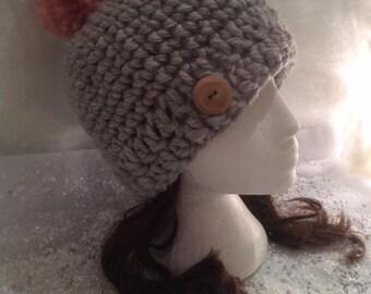 The Chloe Bobble Pom Pom Hat