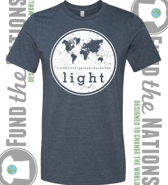 t shirt mission trip fundraiser for emily mciver the world