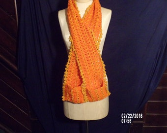Mac and Cheese scarf