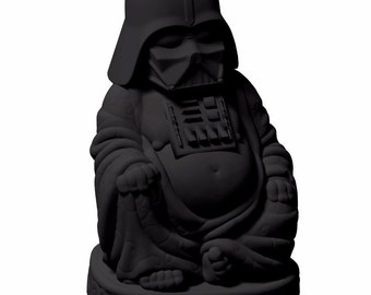 Sculpture Buddha Darth Vader - Star Wars