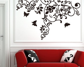 Flower pattern Wall Sticker Wall Decal