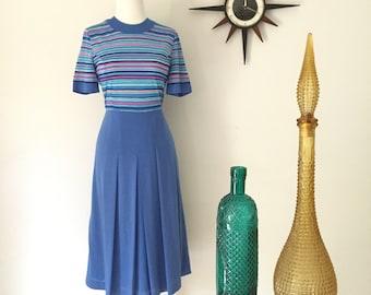 1970s Japanese Vintage striped dress by Jonathan Logan