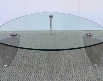 "Mathew Hilton "" Flipper "" coffee table 1980,s"