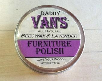 Daddy Van's Furniture Polish (5 oz.) Lavender