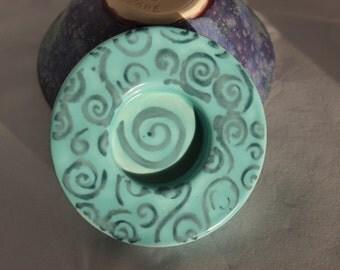 Tea Light Candle Holder - Spiral