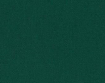 Kona Cotton Kelly Green half yard, Green fabric Robert Kaufman, designer fabric 100% cotton fabric