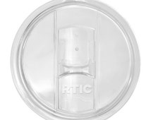 Splash Proof RTIC 10/20oz. / Please verify size you need / Tumbler Lid ONLY/ Comparable to Yeti / Hot or Cold / Drink Holder
