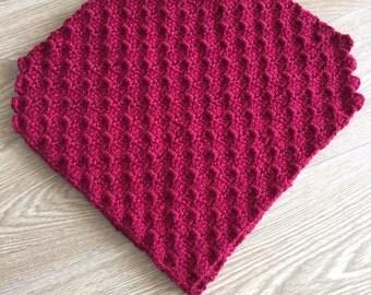 Kids poncho crochet