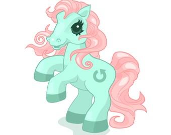 """6"""" x 6"""" one trick pony print"""