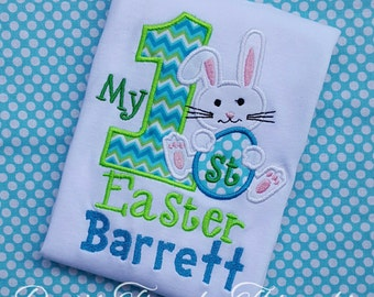 my 1st easter shirt or onesie