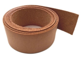 "Leather Strips 1 1/2"" - 38MM Width 