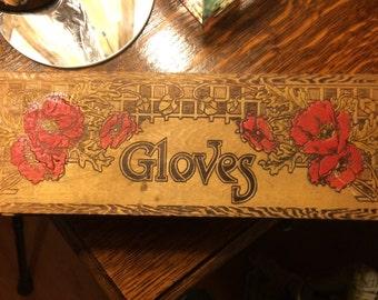 Vintage Glove Box