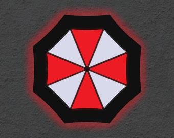 Resident Evil Umbrella Wall Art Decoration