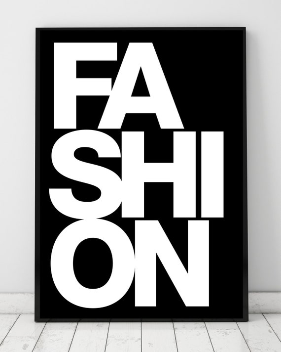 Fashion Book Cover Job : Fashion book cover printable poster high by