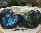 Labradorite Heart, Labradorite Decorative Heart, Polished Labradorite Heart, Heart Stone, Heart Crystal, Crystals, CM3502