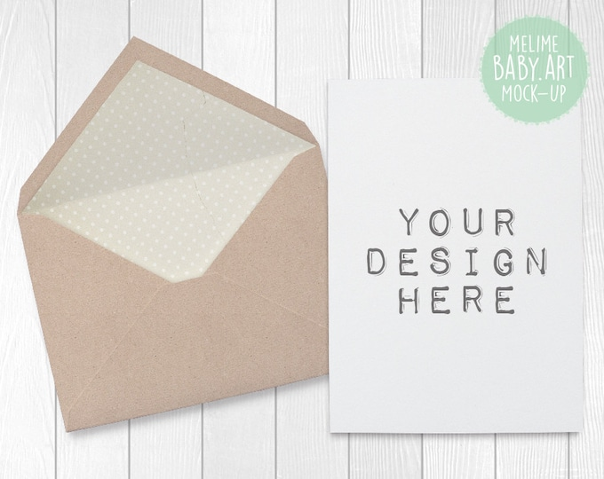 Cards and Envelope Mockups, Natutal Card Mockup, 5x7 Invitations Mockup, Set of Two Styled Invitation Photography (A3.A4.Card)
