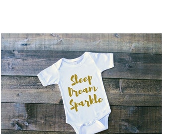 Sleep Dream Sparkle Onesie