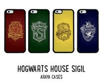 Harry Potter Phone Case Gryffindor Slytherin Ravenclaw Hufflepuff Hogwarts iPhone 5 5s 5c 6 6s plus 7 Cover Samsung Galaxy S4 S5 S6 edge S7